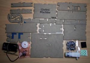 Useless Machine Bundle contents